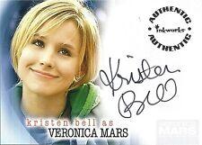 A1 KRISTEN BELL VERONICA MARS SEASON 1 AUTOGRAPH CARD INKWORKS AUTHENTIC