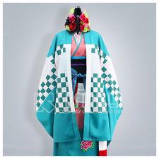Cosonsen Ao no Exorcist Shiemi Moriyama Cosplay Kimono Costume All Size