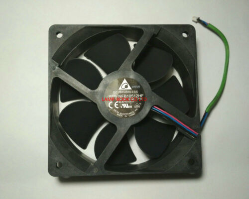 USED NFB10512HF 12V 0.39A FAN MADE IN CHINA VERSION 49.87Y01G011 105*105*12mm