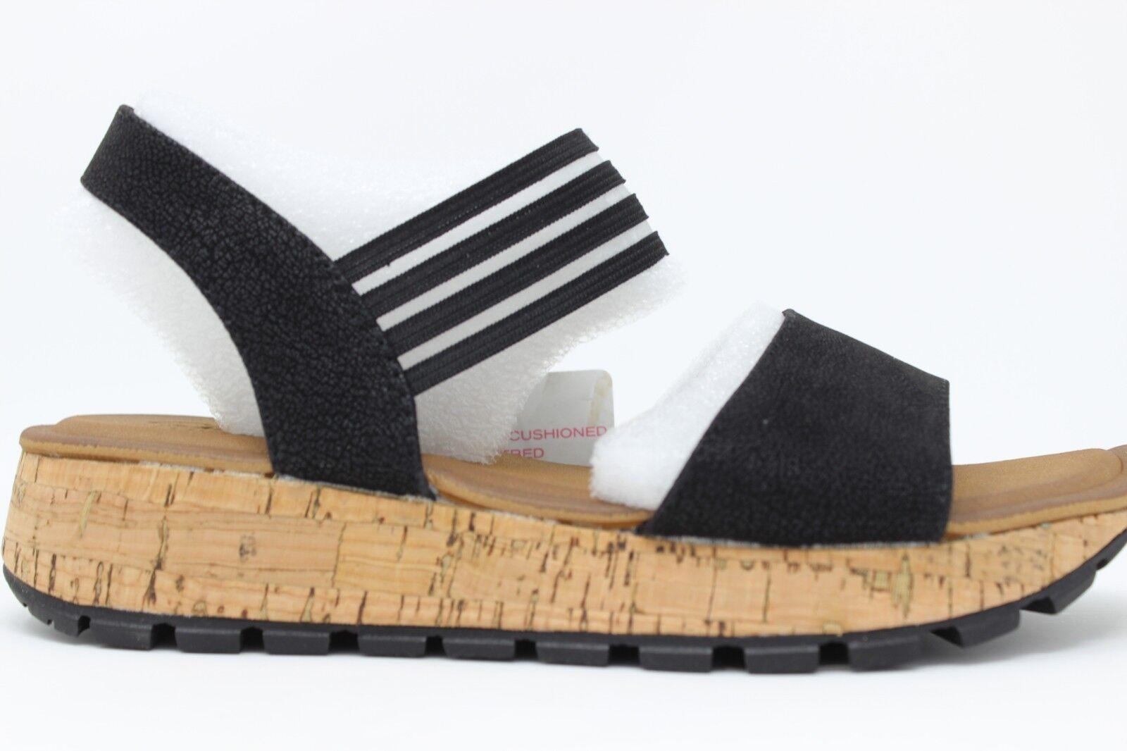Skechers Damen Bequemer Schwarz Step Footsteps-Markers Schwarz Bequemer 31700 / Blk mit Luxe 862d6f