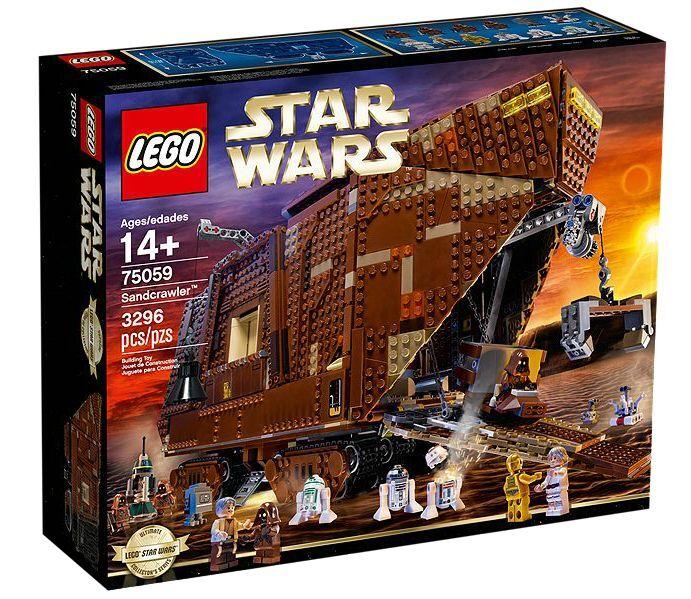 LEGO ® Star Wars ™ 75059 Sandcrawler ™ Nouveau neuf dans sa boîte _ NEW En parfait état, dans sa boîte scellée Boîte d'origine jamais ouverte