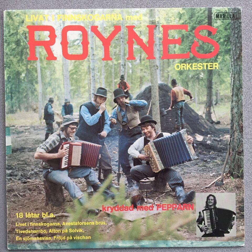 LP, Roynes , Livat I Finnskogarna