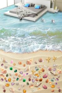 3D Shellfish Beach Sea 5 Floor WallPaper Murals Wall Print Decal AJ WALLPAPER CA