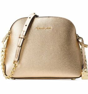 adba95dc6dd3e8 Image is loading New-Michael-Kors-studio-mercer-MD-Dome-messenger-