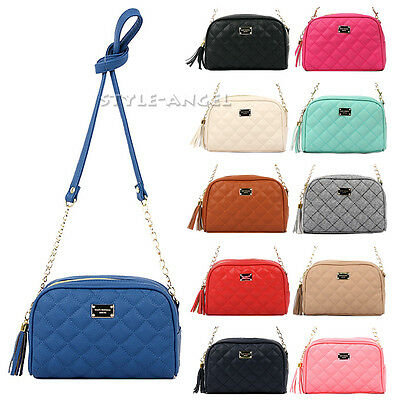 Cute Women Lady Handbag Faux Leather Messenger Cross Body Purse Bag Shoulder Bag