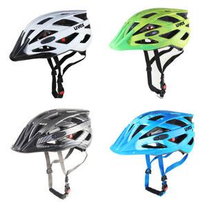 Uvex-I-vo-Cc-Casque-Casque-Radhelm-Velo-Bike-Roue-White-Black-Green-Blue