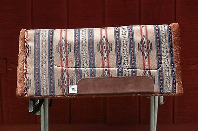 """RIDERS CHOICE SADDLE PAD POTTERY BLACK FREE SHIP BLANKET NEW 32/"""" MADE IN ALABAMA"""