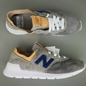 uk availability ab5ba bbb68 Details about New Balance 1978 x Woolrich Running Shoes Size Mens Gray  White Made in USA