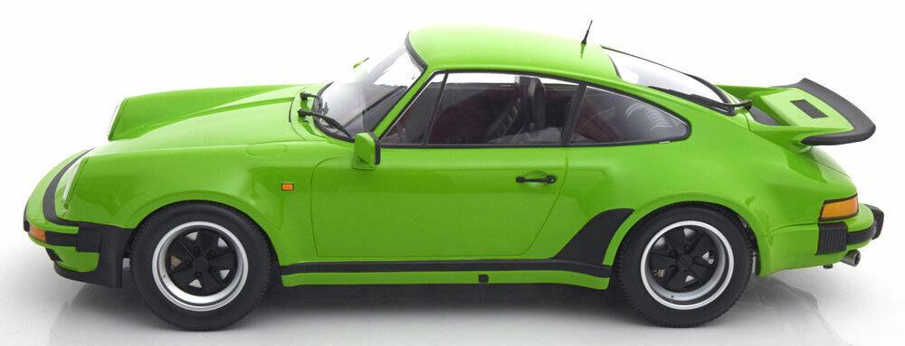 Mini hamps 1977 Porsche Porsche Porsche 911 (930) verde claro sobrepeso 1   12 b99