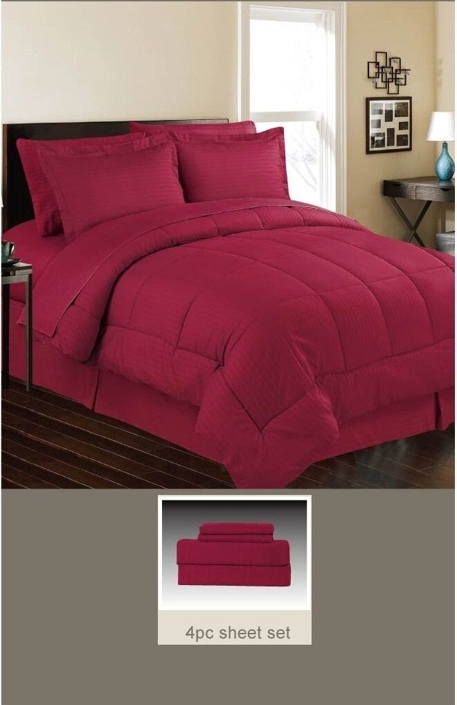 DOWN ALTERNATIVE 4 PC BED SET TWIN, 5 PC BED SET QUEEN & KING, 8 FarbeS