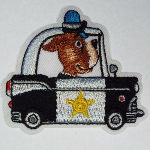 5 DESIGN Quality Iron On Animal Vehicle Motif Construction Boys Toys Patch Sew