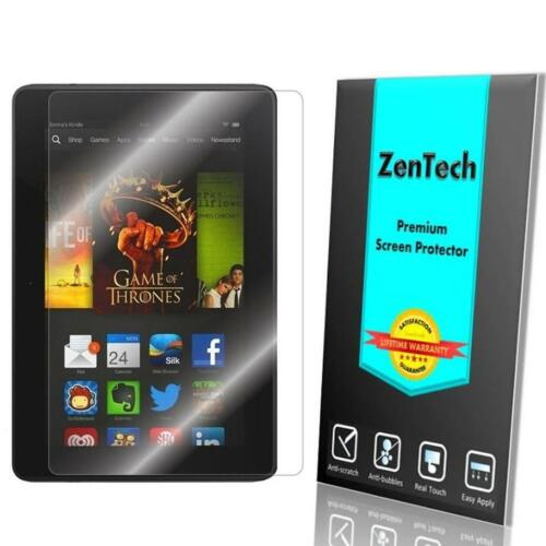 ZenTech Tempered Glass Screen Protector Guard for Amazon Kindle Fire HDX 7