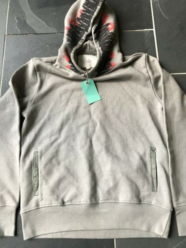 Mens Grey M Smith Over Ear Red Hooded P2p 21