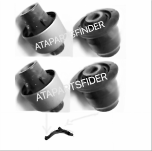 FRONT LOWER CONTROL ARM BUSHING FOR MAZDA MPV 2000-2006 SET OF 4 NEW GOOD PRODUC
