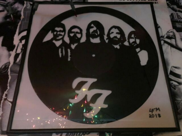 DAVY GROLTON 8-Track Tape DAVE GROHL VINYL Decal//Sticker FOO FIGHTERs