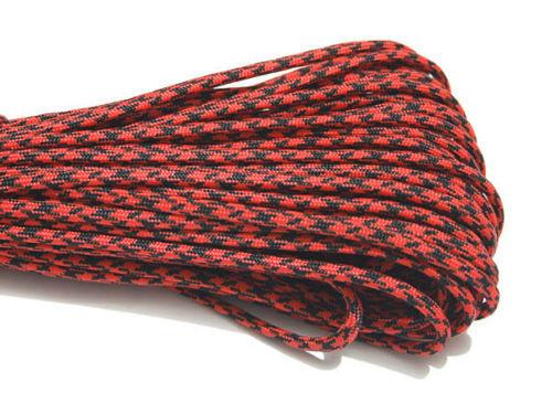 550 Rope Paracord Parachute 7 Core Cord String Sling Lanyard Life-saving Rope
