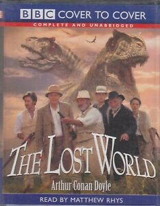 Lost-World-Arthur-Conan-Doyle-6-Cassette-Audio-Book-Unabridged-Matthew-Rhys