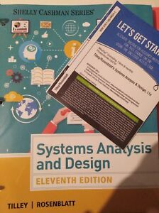 Systems Analysis And Design Mindtap Access Code 11 Us Ed Tilley Rosenblatt 9781337687157 Ebay