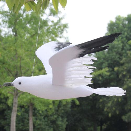 Fliegende Gartenfigur Süße Vogelfigur Dekofigur Möwe