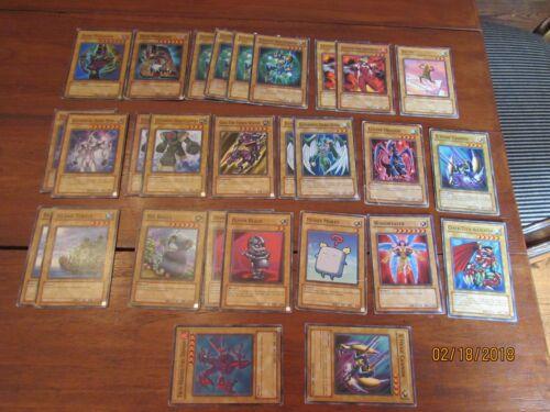 lot 28 YuGiOh cards Dark Magician Super Rare 1st ed Elemental Hero Playset Spark