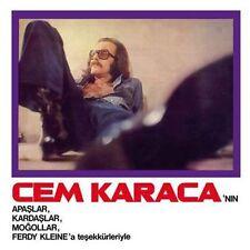 Turkish LP Cem KARACA APASLAR KARDASLAR MOGOLLAR FERDY KLEIN ORKESTRASI G/F S/S