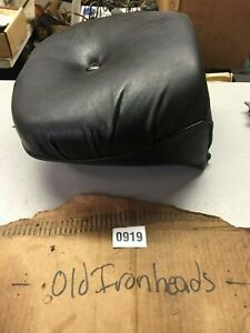 Details about HARLEY FXR FXRP FXLR FXRT GENUINE HARLEY FXR PASSENGER,  PILLOW REAR SEAT NICE!