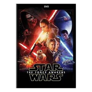 New Star Wars: The Force Awakens DVD