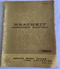 Heath Kit Assembly Manual Vacuum Tube Voltmeter Model Im 13