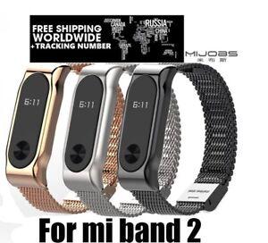 Metal-Wrist-Band-Bracelet-Replacement-for-Xiaomi-Mi-band-2-Fitness-Tech-Accs