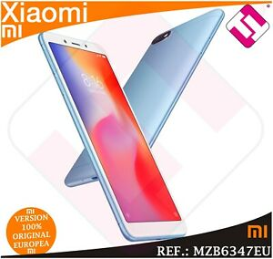 TELEFONO-MOVIL-XIAOMI-REDMI-6A-BLUE-32GB-ROM-2GB-RAM-SMARTPHONE-VERSION-GLOBAL