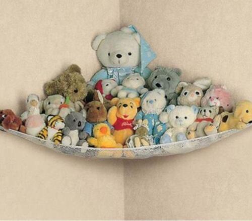 LARGE HAMMOCK STORAGE TIDY KIDS PLAYROOM BEDROOM NURSERY  TOYS GAMES BABY