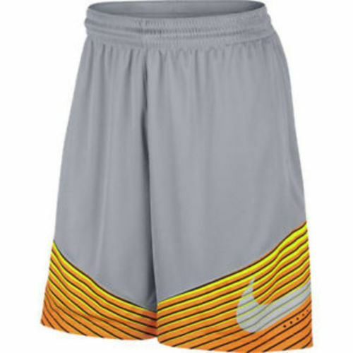 718386-013 New with tag Nike Men/'s elite reveal basketball shorts Grey