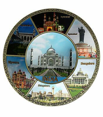 5.5/'/'Decorative Wall Plate Taj Mahal Home Decor Handicraft Gift collectible
