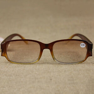 Fashion-Unisex-Mens-Womens-Brown-Reading-Glasses-Readers-1-1-5-2-2-5-USEFUL