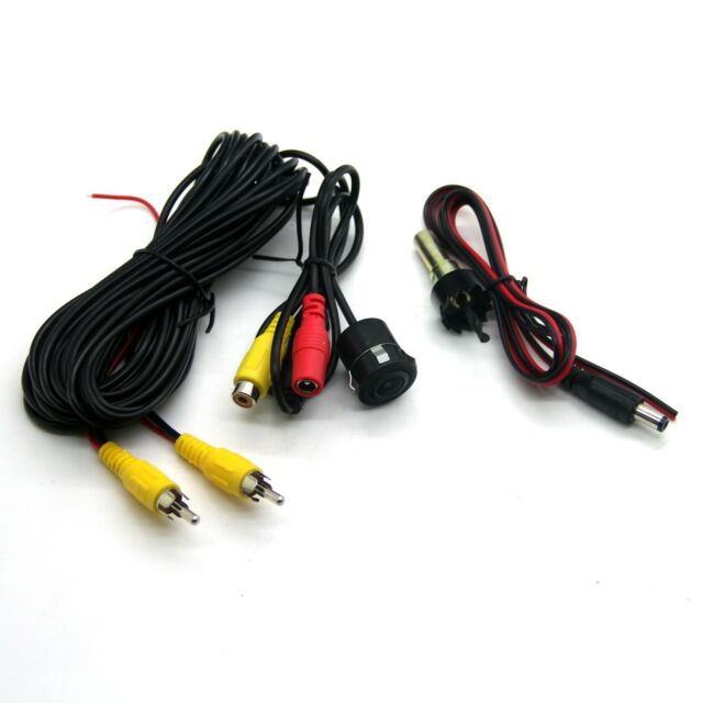 Universal Car Reverse Rear View Backup Color Camera with 18.5mm Drill Brand New