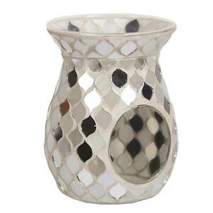 Aroma-Pearl-Silver-Teardrop-Wax-Melt-Burner-Home-Fragrance-Sparkle-Decor-Gift