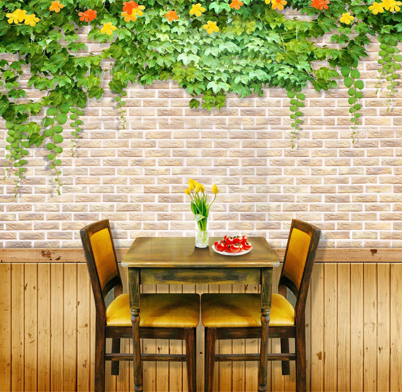 3D Grüne Blätter Wand 8883 Tapete Wandgemälde Tapeten Bild Familie DE Jenny  | Neueste Technologie  | Schön In Der Farbe  | Niedriger Preis und gute Qualität