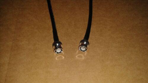 25 FT     RG-8X   CB  Ham Radio  BNC   Male   to  BNC  Male  50 ohm  coax cable