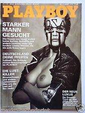 Playboy - D 3/1992, Lotusblüten, Tanya Beyer, Gillian Tompson, Robin Williams