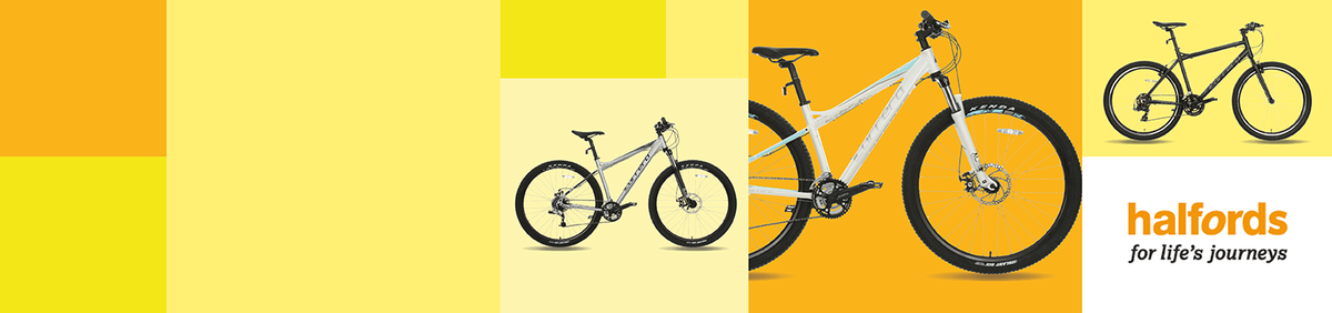 Shop event 20% off a Range Of Bikes From Halfords Great deals on a large range of bikes