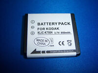 Replacement Battery For Kodak Klic-7004 K7004 Finepix F100fd F50fd