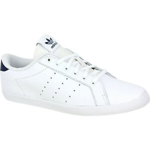 5 Originals 5 Blue White Trainers 5 Leather Adidas Navy Stan Miss Womens Size 4 q8xxC7d