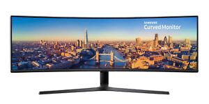 Monitor Qled 49 Samsung Lc49j890 curvo negro