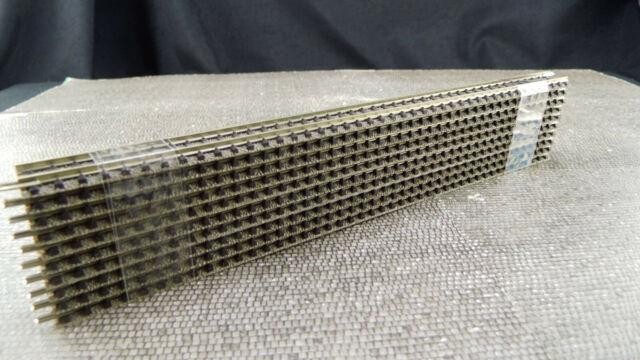 Fleischmann 9100 Gerades Gleis 220mm Spur N 10 Stück  FL777 Gebraucht