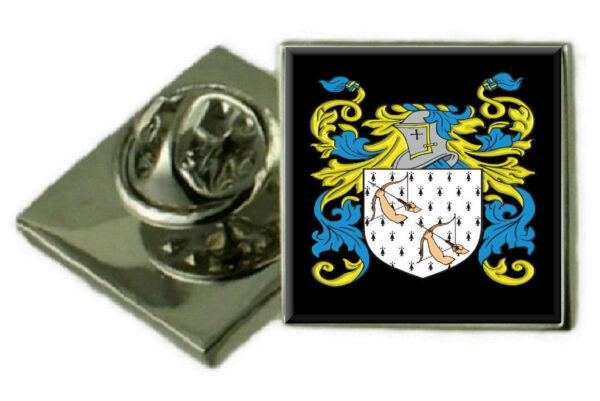 2019 Neuer Stil Garten Schottland Familie Wappen Revers Pin Abzeichen Graviert Geschenk Hülle