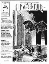 PULP ADVENTURES #7 - 1996 pulp fanzine - Norvell Page The Spider, Doc Savage