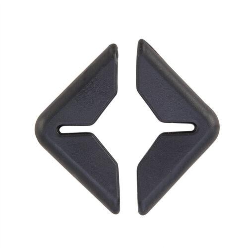 2Pcs//Set Rubber Scratch Protector Protection Strip Auto Guard Car Door Bumper