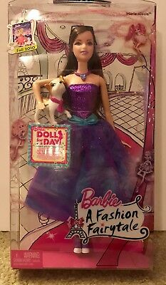 Barbie A Fashion Fairytale Marie Alecia Doll W Pet New Ebay