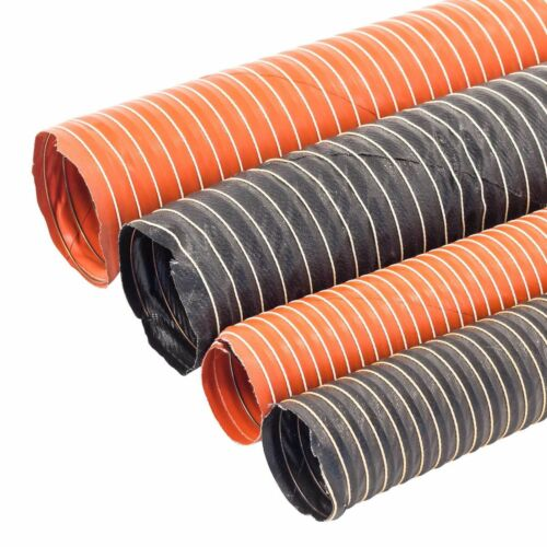 Various Size L Hot Or Cold Air Induction Flexible Ducting Hose Silicone Brake