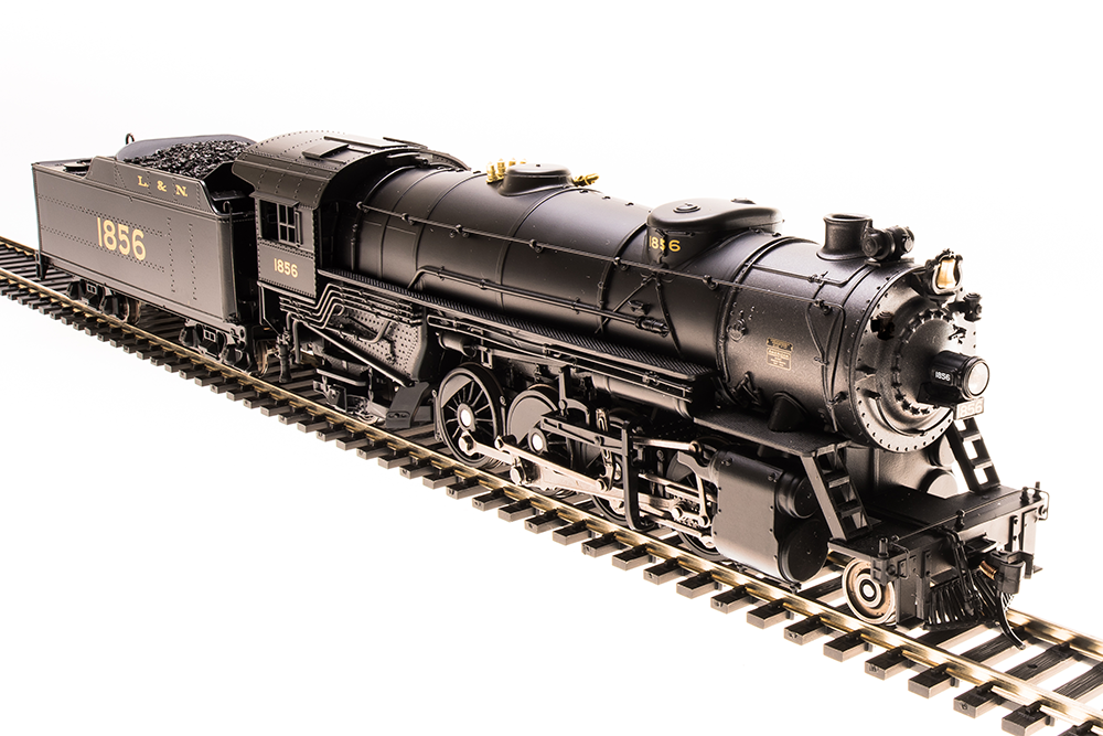 Broadway Limited Limited Limited HO L&N 2-8-2 Heavy Mikado  1856 P3 Sound DC DCC 5547  New 2019 c3fddf